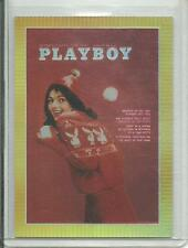 Playboy Chromium Cover Cards Edition 3 Refractor Card # R215