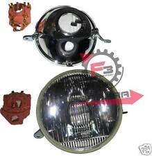 A510) FANALE ANTERIORE GRUPPO OTTICO  IN METALLO E VETRO VESPA PX 200 P200E