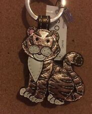 NWT Coach Year Of The Tiger Fob Keychain