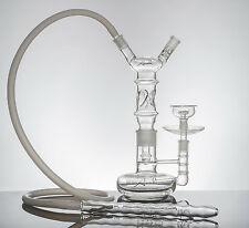 "16"" Tall The Artistry Anahi All Glass Hookah Tobacco Narghile"