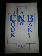Collectible Cookbook!  CNB(Central National Bank) Cook and Bake Vol. II can