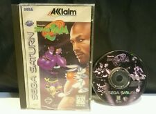 Sega Saturn Space Jam Game Complete w/Case & Manual