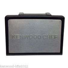 KENWOOD CHEF A901, 901D/E SERIES SLOW SPEED FRONT OUTLET BADGE COVER IN  BLACK
