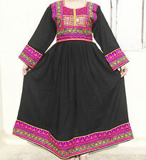 Kuchi Afghan Banjara Tribal Boho Hippie Style Brand New Ethnic Dress ND-164