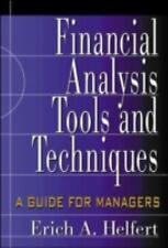 Financial Analysis Tools and Techniques : A Guide for Managers by Erich A....