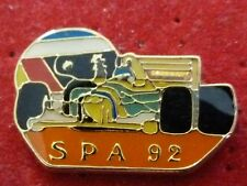 RARE PIN'S F1 FORMULA ONE CASQUE SCHUMACHER BENETTON SPA 92