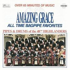 FORTY-EIGHTH HIGHLANDERS - Amazing Grace: Bagpipe Favorites [Pro... CD Excellent