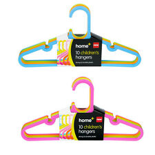 Joblot Wholesale 240 Multicoloured Kids Baby Plastic Coat Clothes Hangers New