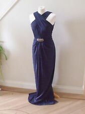 BNWT Designer  No. 1 Jenny Packham  Navy LEXI  Maxi Dress size 18-RRP£130