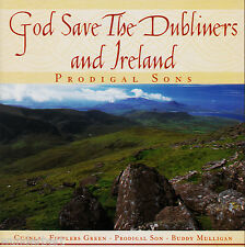 *- CD - GOD save the DUBLINERS and IRLAND - PRODIGAL sons (1999)  50 min