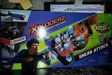 Maya Group Xploderz Sneak Attack Blaster 1000 blue rounds 2 boxes Red 500 ammo