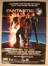"""FANTASTIC FOUR Promo Poster, 19""""x27"""", 2005, Unused, more in our store"""