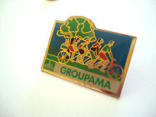 PINS SPORT CYCLISME VELO GROUPE GROUPAMA