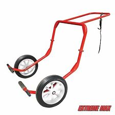 Extreme Max Monster Dolly M2 - Red Snowmobile, Lift, Shop Dolly