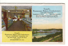 Traxel Restaurant Bakery Confectionery Soda Fountain Maysville Kentucky postcard