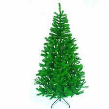 7Ft  210 CM Artificial Christmas Tree Green with Metal Stand Xmas Decorations