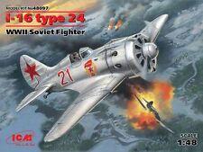 Polikarpov I-16 type 24   ICM 48097 1/48