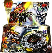 Variares D:D Metal Fury Fusion Fight Masters Beyblade Set w/ Launcher NIP