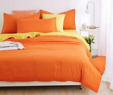 Double Color Quilt Cover Set Bedding Duvet Cover Pillowcase Twin Full/Queen King