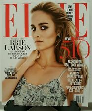 Elle Brie Larson Fashion Jackets Flats Dating Money March 2016 FREE SHIPPING JB