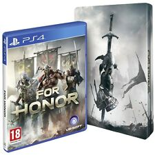 For Honor PS4 Game (with Steelbook & Legacy Battle Pack DLC) Brand New