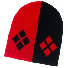 Harley Quinn Soft Acrylic Slouch Beanie Hat - New & Official DC Comics With Tag