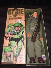 "G.I. JOE by Hasbro LITTLE SURE SHOT of Sgt Rock 12"" Action Figure Near Mint"