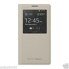 COLOR BEIGE ¡COMPLETAMENTE ORIGINAL! FUNDA Samsung Galaxy Note 3, S-View