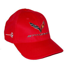 Chevrolet Corvette C7 Stingray Red Hat Cap - SHIPPED IN A BOX  - 2014 2015 2016