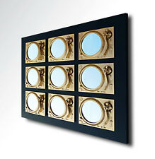 Prevail -  Bespoke Technics Turntable Inspired Mirror Sculpture - Gold/ Black