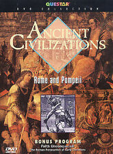 Ancient Civilizations: Rome and Pompeii (DVD, 2003) FREE SHIPPING