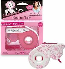 Hollywood Fashion Secrets Refillable Fashion Tape Gun, Pretty Petals *NIB*