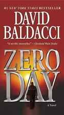 Zero Day by NYT Best Selling Author  David Baldacci (2012, Paperback) Free Ship