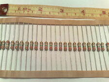 50 pcs 1/2W * 2M2 5% 0.5W * Old Style * CARBON FILM RESISTORS * Readable Bands !