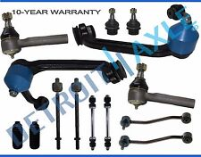 NEW 14-Pc. Front and Rear Suspension Kit Upper Control Arms Lower Ball Joints