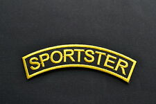 Sportster,Patch,Aufnäher,Aufbügler,Badge,Iron On,Vintage,Chopper,Harley,Evo