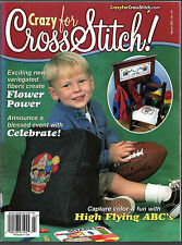 Crazy For Cross Stitch magazine March 2001 Vo 11 No 3  Issue No 63 FREE SHIPPING