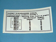 range rover classic vm 2.4 tappet guide decal