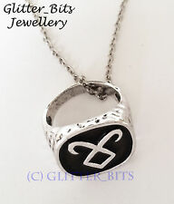 MORTAL INSTRUMENTS RUNE RING NECKLACE ENKELI SHADOWHUNTER NEPHILIM JACE CLARY