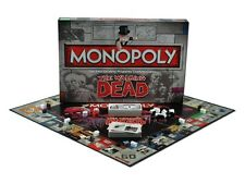 Le walking dead monopoly collectionneurs édition nouvelle 6 x jetons de métal de collection