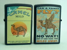 CAMEL ZIPPO  CAMEL  MILD CAN A CAMEL FLY  PACK LIGHTER, NAVY BLUE CZ# XXX