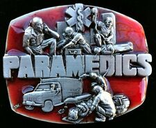 PARAMEDICS BELT BUCKLES AMBULANCE DOCTOR EMT HOSPITAL EMERGENCY BOUCLE CEINTURE