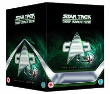 "Star Trek: Deep Space Nine 9 Complete DVD Box Set 48 Discs New & Sealed R2 ""dent"