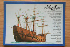 """""""Mary Rose in her Heyday by artist Roy Huxley"""""""