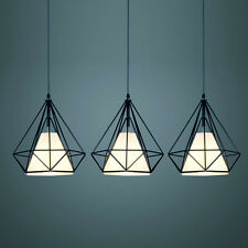Diamond Design Industrial DIY Metal Mesh Ceiling Lamp Light Pendant Cafe Home