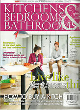 KITCHENS BEDROOMS & BATHROOM, OCTOBER, 2014 (  HOW TO BUY A KITCHEN * LIVE LIKE