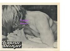 TURKISH DELIGHT RUTGER HAUER SEXY NUDE IN BED VINTAGE ORIGINAL 8X10 PRESS PHOTO