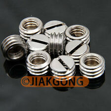 "10pcs 1/4"" Female to 3/8"" Male screw Adapter TN-3"