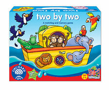 Orchard Toys Educational Games - Two by Two - Brand New