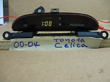 00-04 TOYOTA  CELICA DASH DIGITAL CLOCK